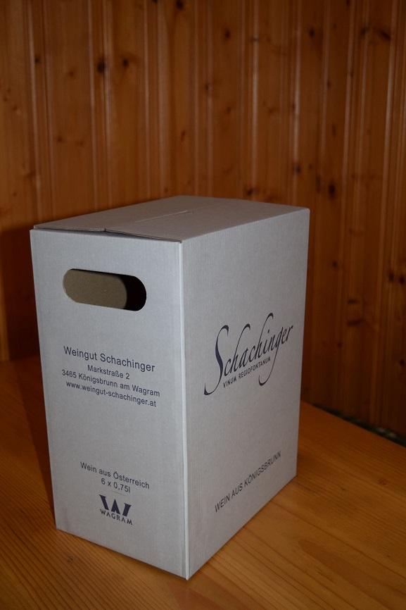 Weingut Schachinger Königsbrunn am Wagram Kostkarton