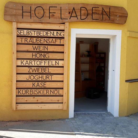 Hofladen geöffnet: täglich von 8:00 – 20:00 Uhr